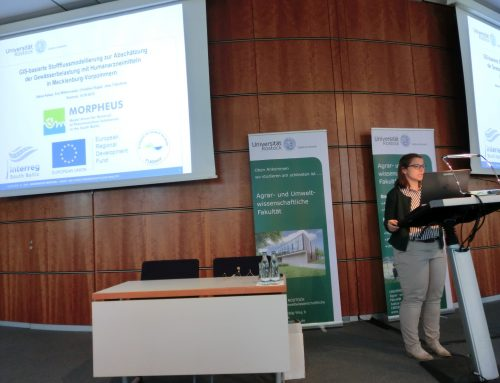MORPHEUS at the 12th Rostock Wastewater Conference